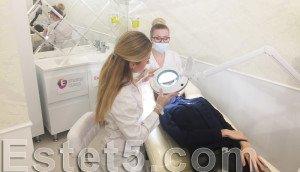 Косметическая чистка лица Киев